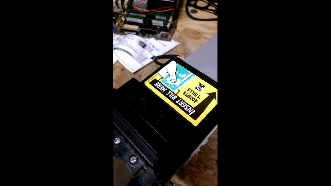 DIY MEI Mars Bill Acceptor Belt Repair Car Wash by Car Wash