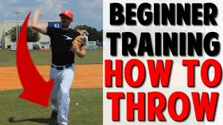 Coaching Beginner Baseball | H๐w to Throw (Pro Speed Baseball)