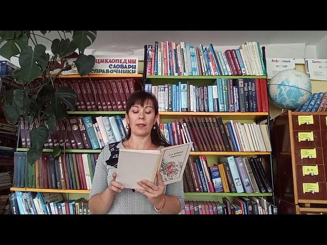 Изображение предпросмотра прочтения – НатальяХайдукова читает отрывок изпроизведения «Весенний вечер» С.А.Есенина