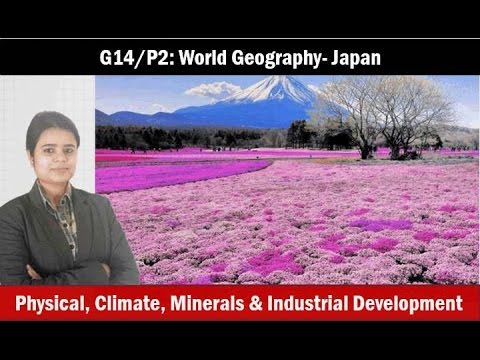 G10/P2: World Geography- Japan- Mining, agriculture, industries
