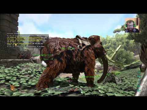 ARK PS4 ARKaholics T-Rex time
