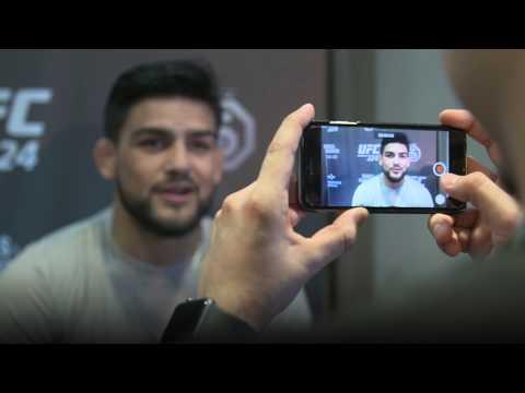 Kelvin Gastelum: Con el objetivo claro en UFC 224