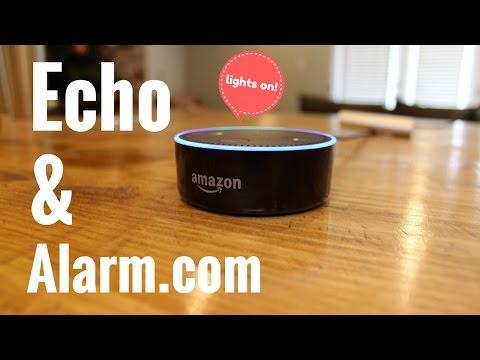 Amazon Alexa Alarm.com Skill