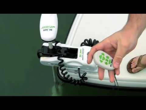 Trolling Motor Rhodan Marine Hd Gps Anchor Ad1 Youtube