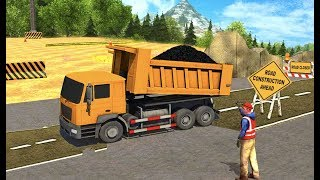 Road Builder Construction Sim Games Android Gameplay