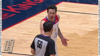 JJ Redick Ejected For Passing the Ball to Referee - Celtics vs Pelicans | February 21, 2021