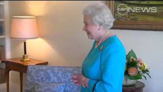 The Queen meets the PM
