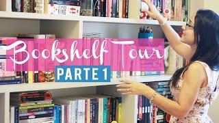 BOOKSHELF TOUR 2016 (Parte 01)   Tour pela Minha Estante    Nuvem Literária