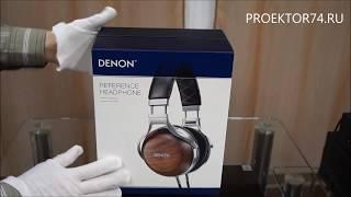 видео Обзор наушников Denon AH-D340
