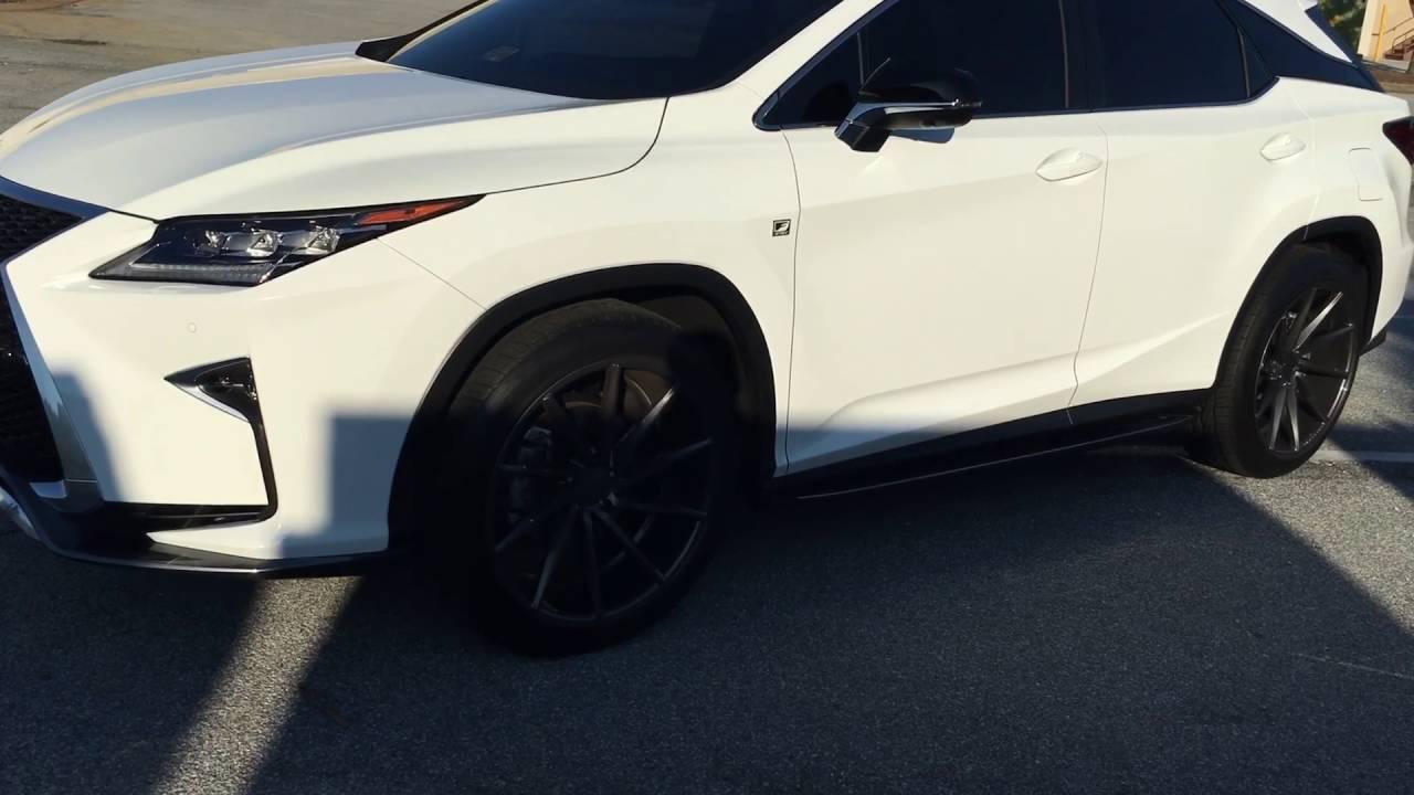 2016 Lexus Rx 350 on vossen Cvt  YouTube