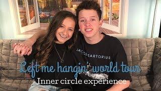 LEFT ME HANGIN' JACOB SARTORIUS TOUR EXPERIENCE {Live footage} || Brooke Sanchez