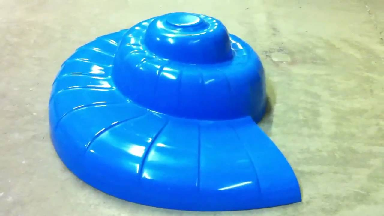 Nautilus Sink Mold For Concrete Sink Fabrication   YouTube