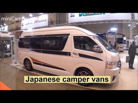 camper vans JAPAN 2018