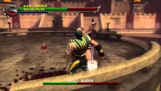 [PlayStation 2] - Mortal Kombat: Shaolin Monks - Final Boss (Scorpion)