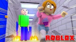 Roblox Escape Baldi's Basics Obby!