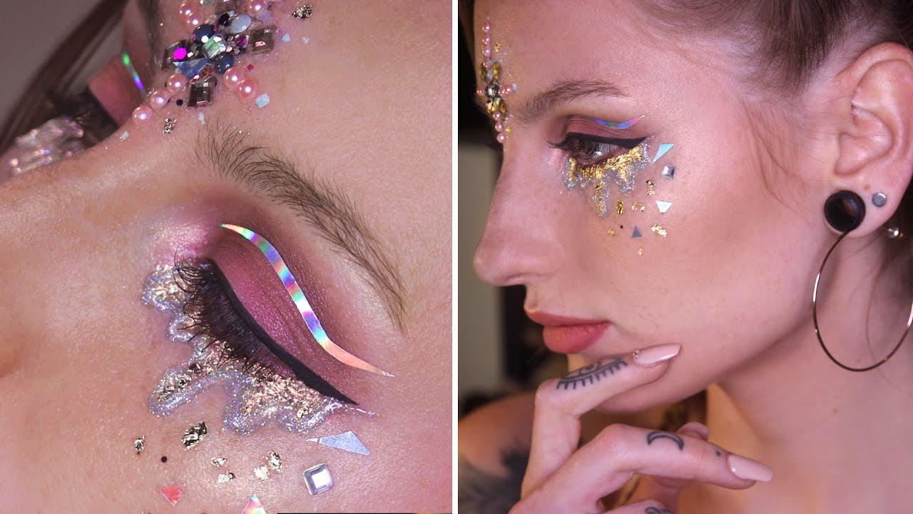 Watch - Tutorial: Makeup Mermaid-Inspired Eyeliner video