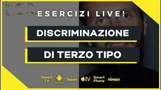 Discriminazione di Terzo Tipo | Microeconomia (Economia Politica) | Esercizio