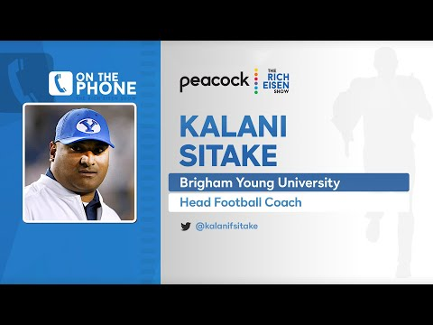 BYU Head Coach Kalani Sitake Talks Zach Wilson & More with Rich Eisen | Full Interview | 3/8/21