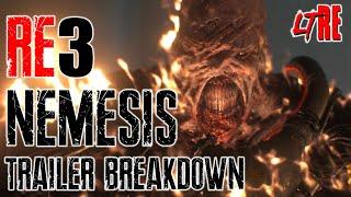 NEMESIS TRAILER BREAKDOWN - RESIDENT EVIL 3 REMAKE