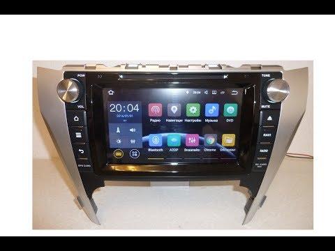 Штатная магнитола Toyota Camry 2012-2015