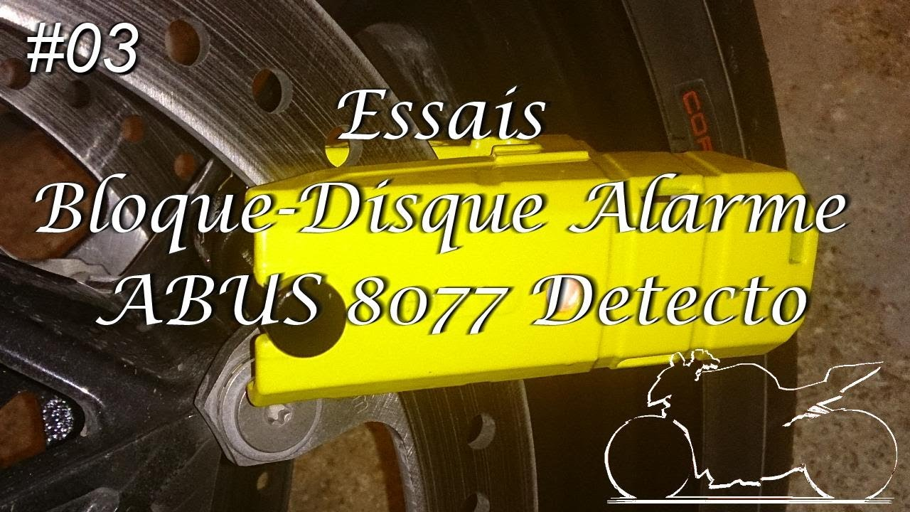 03 essais bloque disque alarme abus 8077 detecto youtube. Black Bedroom Furniture Sets. Home Design Ideas