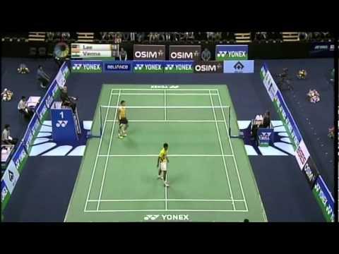 QF - MS - Lee Chong Wei vs Sourabh Verma - 2011 Yonex Sunrise India Open