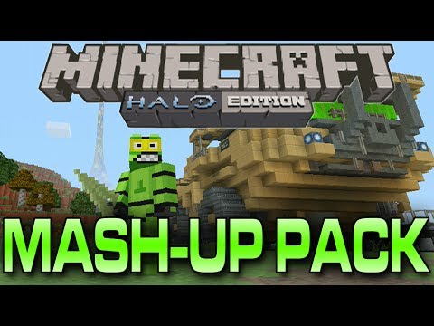 Minecraft: Xbox 360 Edition HALO Mash-up Pack (Halo World Tour)