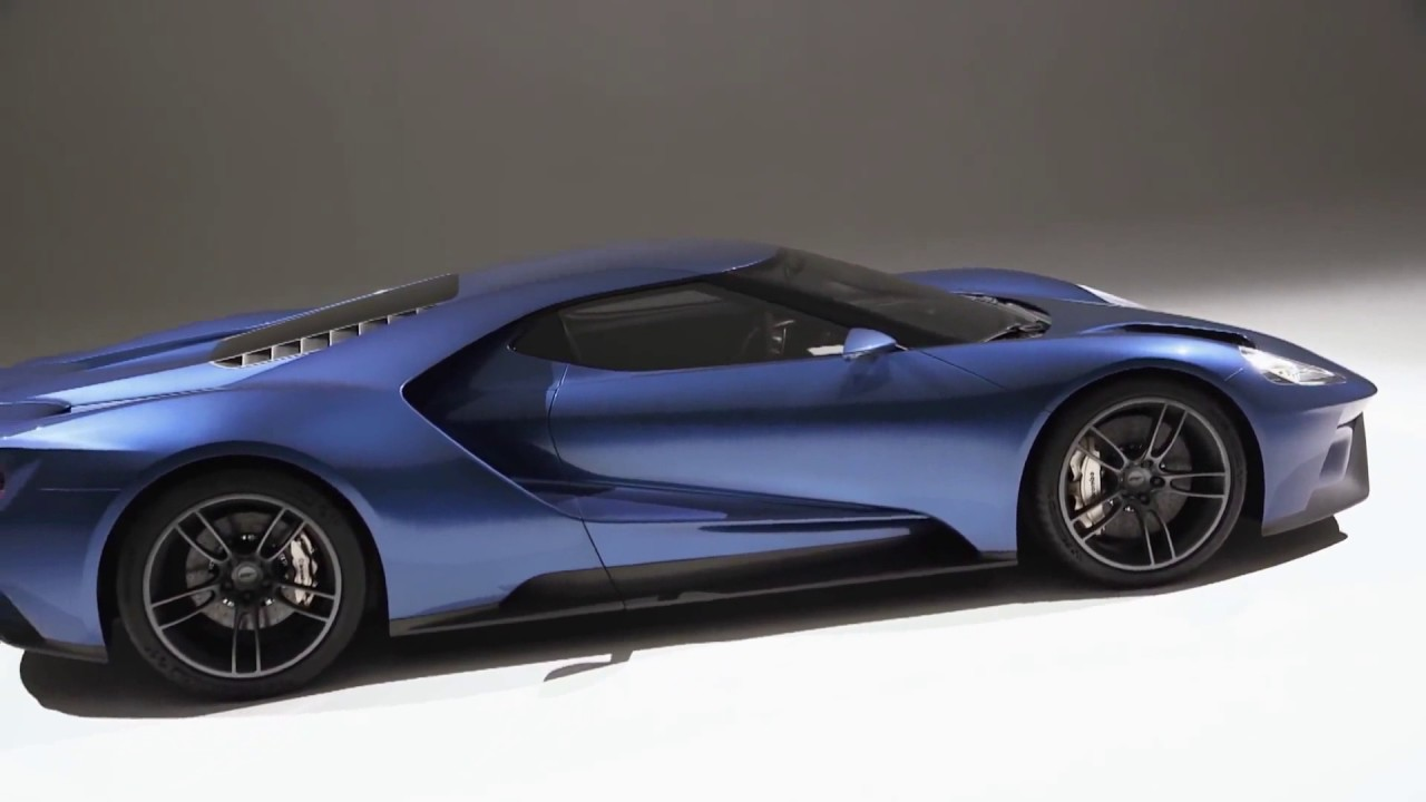 Official Ad Of The Ford Gt