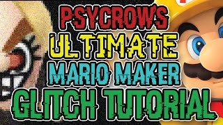 PSYCROW'S ULTIMATE MARIO MAKER GLITCH TUTORIAL
