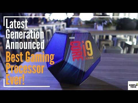 [In HINDI] Intel 9th Generation Processors Highlights  I9-9900k, I7-9700k,i5-9600k  And Price
