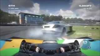 PS3 Grid 2 Online Gameplay Compilation