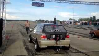 VW Golf Mk3 R32 Turbo 4motion 1200+HP Spb-Racing Tuning Summer Camp Bautzen 2014