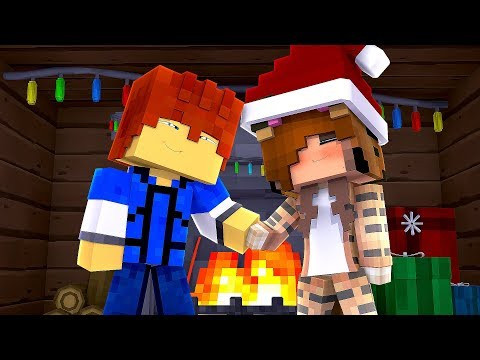 Minecraft Daycare -  CHRISTMAS KISS !? (Minecraft Roleplay)