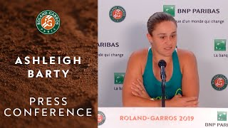 Ashleigh Barty - Press Conference after Quarterfinals | Roland-Garros 2019