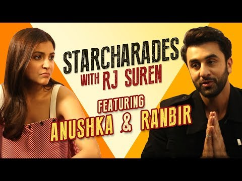 StarCharades | Ranbir reveals Anushka's sad secret | RJ Sure