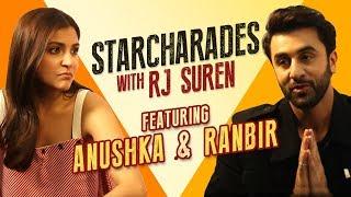 StarCharades | Ranbir reveals Anushka's sad secret | RJ Suren | Radio Mirchi