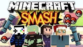 NUR RAKETENWERFER & POKEBÄLLE! Minecraft SMASH! mit GLP, Zombey & Maudado  | ungespielt