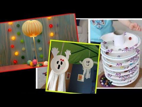 Creative Ideas! DIY Video Paper Plate