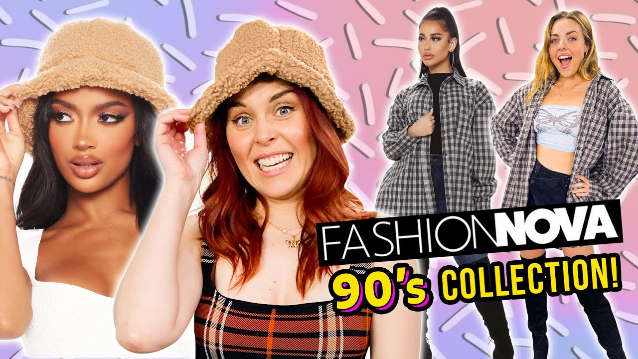 Download Millennials Try CRAZY Fashion Nova 90's Outfits!