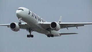 Plane Spotting at London Heathrow Airport, Runway 27R Arrivals | 18-02-19
