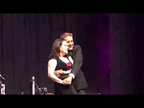 Karen Lynn Gorney and Deney Terrio live in Coney Island July 2017