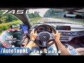 2020 BMW 7 Series 745Le AUTOBAHN POV 260km/h TOP SPEED by AutoTopNL