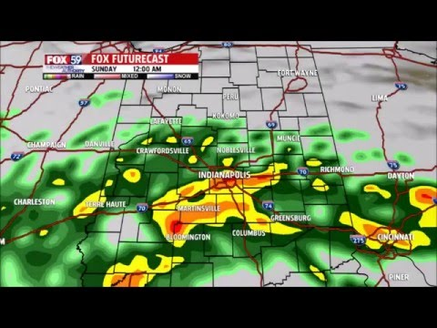 Indiana Spring Weather (Hello Muddah, Hello Faddah)