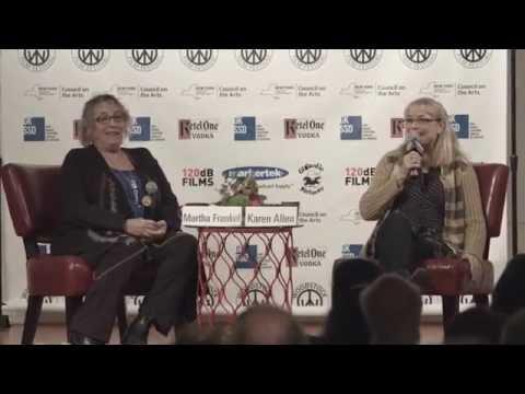 """2016 Woodstock Film Festival: """"Karen Allen: Actors Dialogue"""" FULL PANEL"""