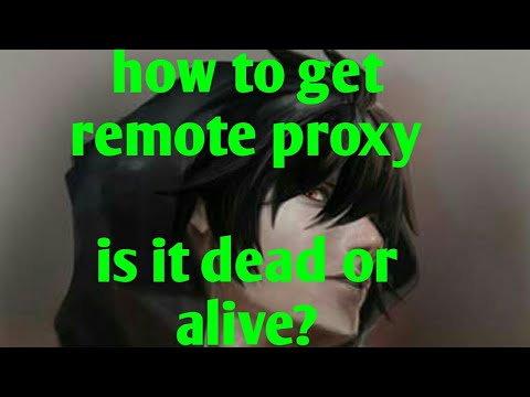 how to get remote proxy for http injector and check if its alive or dead :)