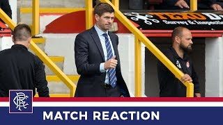 REACTION | Steven Gerrard | Aberdeen 1-1 Rangers
