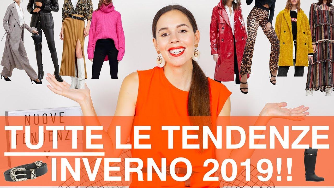 Tendenze Autunno Lista Della Moda La Nuova Inverno 2019Tutta drBotsQhCx