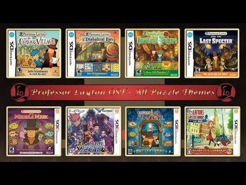 Professor Layton OST - All Puzzle Themes (V. 2 Lady Layton)