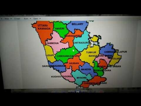 Karnataka Maps District 6-10