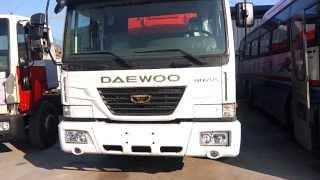 Fuel Tank Lorry Daewoo Ultra Novus 2012, 22000lt